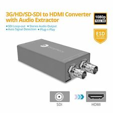 gofanco Pro SDI to HDMI Converter Adapter with Audio Extractor (PRO-SDIHDaud)