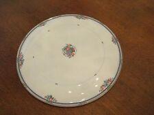 "Christopher Stuart Y1008 13"" Fruit Basket Cake Plate Fine Bone China Thailand"