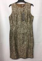 D.Exterior Cinnamon Lurex Dress. Various Sizes. RRP £279. BNWT.