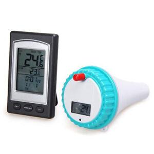 Thermomètre de piscine Professionnel Thermomètre numérique numérique Sans Fil le