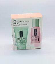 Clinique Liquid Facial Soap Oily Skin, 1 oz + Clarifying Lotion 3, 1 oz Set NIB