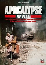 APOCALYPSE WW II -6 FILMS - (4) DVD SET - TIME LIFE - STILL SEALED