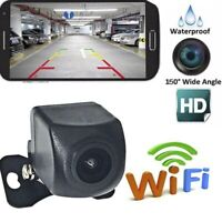 150°WiFi Wireless Car Cam Backup RearView Reverse Camera For iPhone Android/IOS