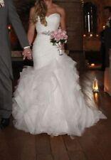 Pronovias Tulle Mermaid & Trumpet Wedding Dresses