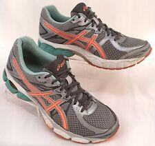 Asics Gel-Flux 2 Women's Sz 10 D Running Shoes Salmon Seafoam Green Grey T569N