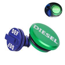 Diesel Fuel Gas Cap DEF Cap Blue for 2013-2017 Dodge Ram Magnetic Aluminum