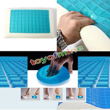 1 Pcs High Density Memory Foam Pillow Contour Cool Gel Top Comfort Sleep