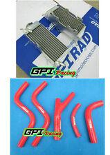 GPI aluminum Radiator &HOSE Honda CR250R CR250 CR 250R 85-87 86 1985 1986 1987
