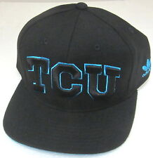 Texas Christian Horned Frogs Black Structured Snapback Adjustable Hat By adidas