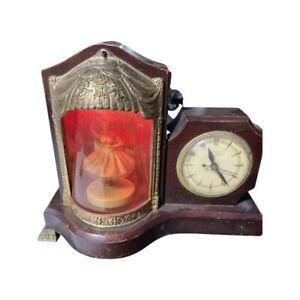 Vintage Dancing Ballerina United Electric Clock Corp Model Animated & Music