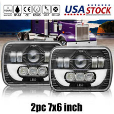 7X6 5x7Inch 120W LED Headlight Upgrade Hi-Lo Beam  for Chevrolet Truck Ford
