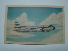 Northeast Airlines Propeller Passenger Airplane Photograph Postcard 1958