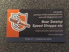 Bear Swamp Speed Shoppe Rare Card