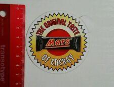 Aufkleber/Sticker: Mars Riegel (22031619)