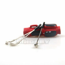 MHPC 1/10 Scale Accessory Scale Golf Clubs For RC Rock Crawler Axial FH31114-RED