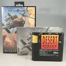 1992 Sega MegaDrive - Operation Desert Strike - Electronic Arts - Complete! PAL