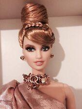 Platinum Label, RUSH de Or Rose Barbie Boîte d'origine jamais ouverte avec boîte d'expédition