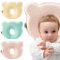 Baby Safe Cotton Anti Roll Support Pillow Sleep Head