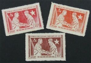 nystamps Viet Nam Stamp # 61-63 Mint H    S24x1308