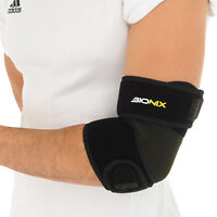 Elbow Support Brace Adjustable Tennis Golfers Strap Lateral Pain Gym Bandage X1