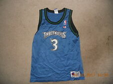 Minnesota Timberwolves Basketball Jersey #3 Stephon Marbury New York Legend Yout
