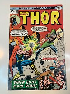 The Mighty Thor #240 (Oct 1975, Marvel) VF/NM