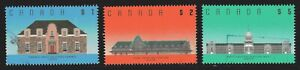 1989 Canada SC# 1181-1183 High Values-Architecture-3 Stamps-Lot CU345-Used