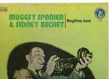 "MUGGSY SPANIER & SIDNEY BECHET.RAGTIME JAZZ.U.S.OLYMPIC ""JAZZ / BLUES"" LP.EX/VG+"