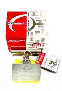 Ham-Let High Needle Valves, P.N.: H-99 Series - 1/2 H-99M-10-SS-N-V-1/2 316SS