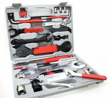 Fahrrad Reparatur Werkzeug Werkzeugkoffer 48tlg Kurbelabzieher Zahnkranzabzieher