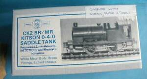 Boxed Crownline Brass & White Metal 4mm Kit CK2 - BR / MR Kitson 0-4-0ST Loco