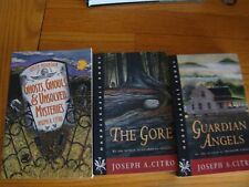 LOT OF 4 J CITRO GORE  GUARDIAN ANGELS STRANGE GHOSTS GHOULS UNSOLVED MYSTERIES