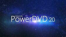 Powerdvd ULTRA Cyberlink 20 NEW! 4k 8k Playback! Original  FAST DIGITAL DELIVERY