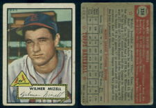 (53222) 1952 Topps 334 Wilmer Mizell RC Cardinals-GD