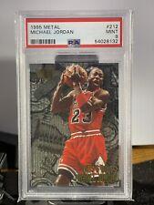 PSA 9 Michael Jordan 1995 Metal Nuts & Bolts Card Chicago Bulls Hof