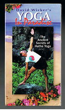 NEW SEALED VHS David Wicker's Yoga In Paradise Ancient Secrets HATHA YOGA