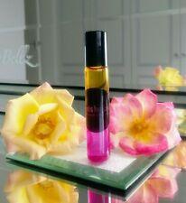 Rose Absolute & Geranium Perfume Handblended Alcohol Free Natural ScentsbyJana