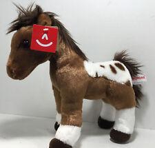 """Aurora 12"""" Dakota Pinto Horse Plush Toy Brand New With Tags 2020"""