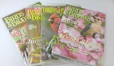 Lot of 4 Birds & Blooms Magazines Sealed Plastic NEW 2010 Garden