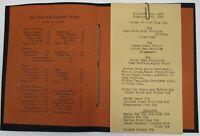 Rare Original 1935 The Dunn-Taft Fountain Room Columbus Ohio Menu