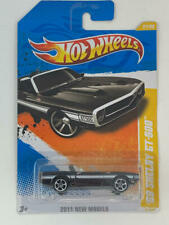 2011 HOT WHEELS NEW MODELS BLACK `69 SHELBY GT-500 CONVERTIBLE # 21