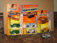 Matchbox Lot of 6 1965 Austin Mini Van 55th Anniversary Low Shipping!