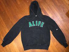ALIFE Black Hoodie Teflon Don L Pullover Sweater Great Gambino Italy John Gotti