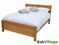 Oak Super King Bed / Solid Wood 6ft Super Kingsize / Bed Frame / New Wellow