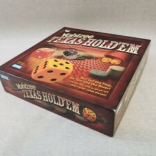 Yahtzee Texas Hold'em Dice Poker Game Parker Brothers Hasbro New 2004 Adult Age