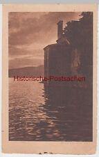 (98701) AK Riflessi, Gebäude am Wasser, vor 1945