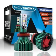 NOVSIGHT H11 H8 H9 LED Headlight Light Bulbs White 60W 16000LM - CREE XHP50 Chip