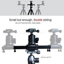"Video Mini Slider Shooting DSLR Camera Slider 9"" Double Travel Distance Fosicam"
