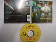 NEW CENTURY SAXOPHONE QUARTET Main Street USA – 1996 Dutch CD – Jazz – BARGAIN!