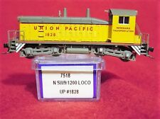 LIFE-LIKE #7518 SW9/1200 UNION PACIFIC'DEPENDABLE TRANSPORT' #1828 *NEW* N-SCALE